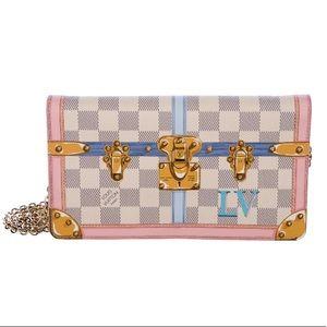 Louis Vuitton Summer 18 Trunks Damier Pochette Bag